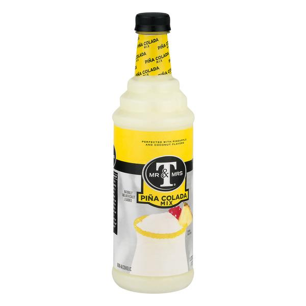 Mr & Mrs T Pina Colada Mix, 1 L Bottle