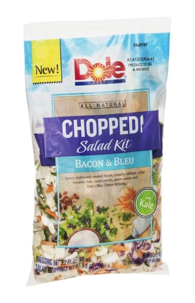 Dole Bacon & Blue Cheese Chopped Salad Kit