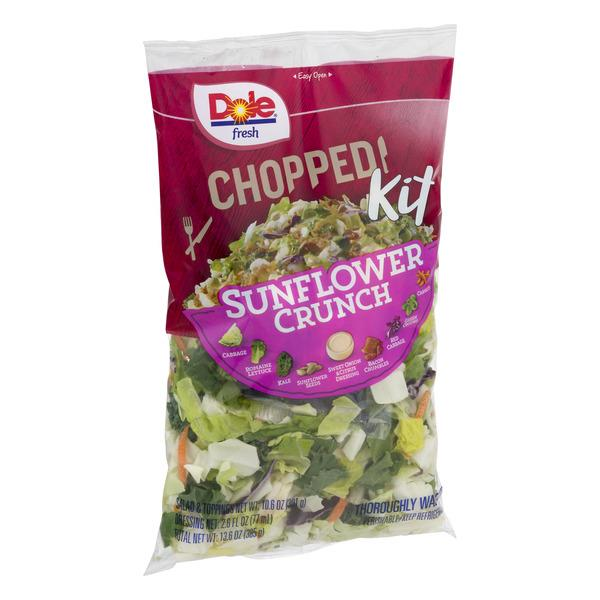 Dole Chopped Salad Kit Sunflower Crunch 13.6 oz. Bag