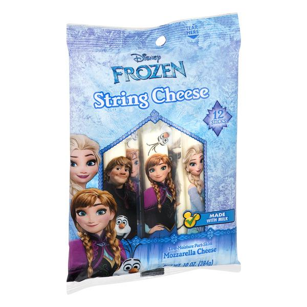 Disney Frozen Mozzarella String Cheese