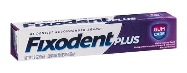 Fixodent Plus Gum Care Precision Hold & Seal Adhesive Cream