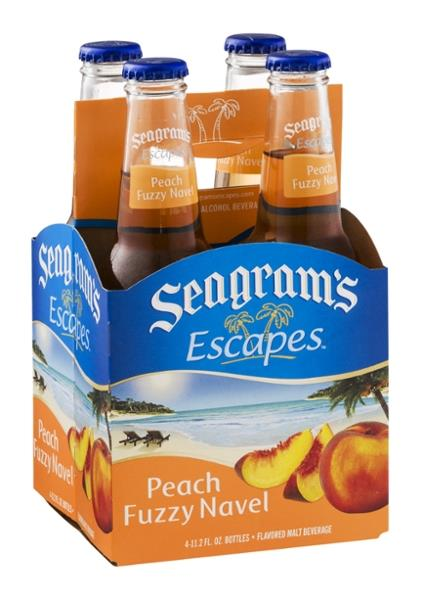 Seagram's Escapes Peach Bellini 4 Pack
