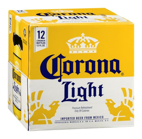 Corona Light Imported Beer 12 Pack
