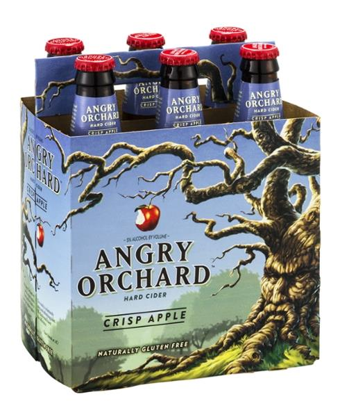 Angry Orchard Hard Cider Crisp Apple 6 Pack