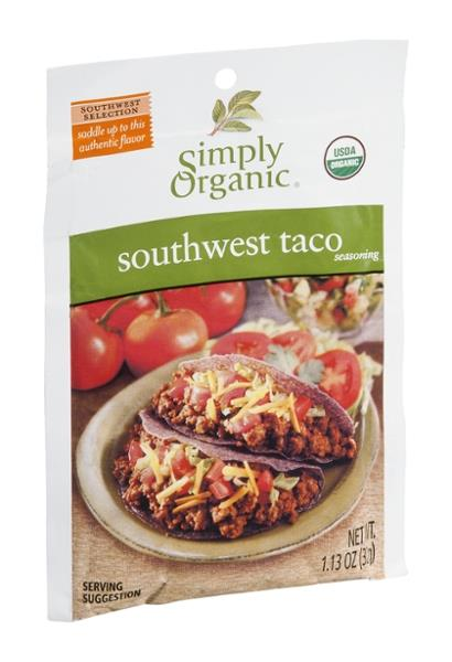 Simply Organic Southwest Taco Seasoning Mix