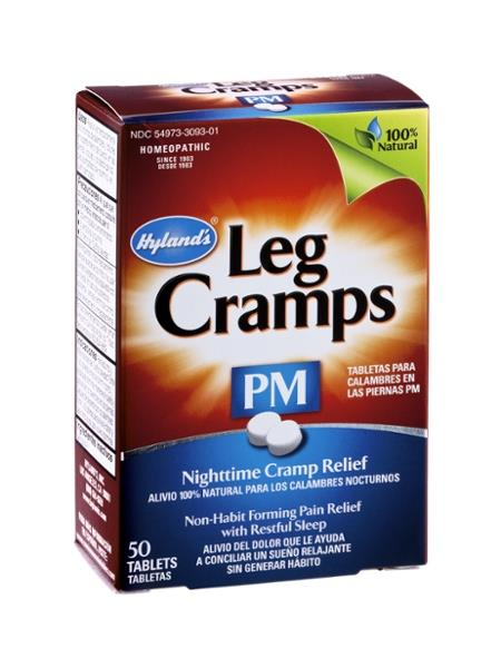 Hyland's Leg Cramps PM Nighttime Cramp Relief Dissolving Tablets