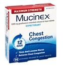 Mucinex Maximum Strength Extended-Release Bi-Layer Expectorant Tablets