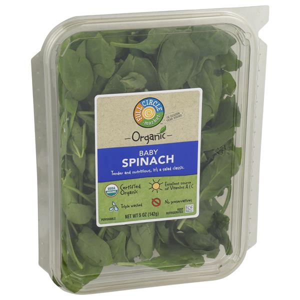 Full Circle Organic Baby Spinach