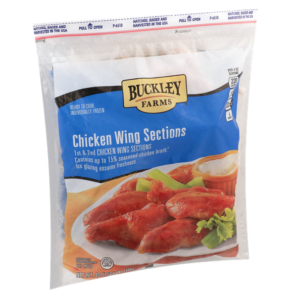 Buckley Farms Frozen Chicken Wings