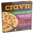 Crav'n Flavor Chicken Bacon Ranch Pizzeria Style Pizza