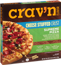 Crav'n Supreme Cheese Stuffed Crust Pizza