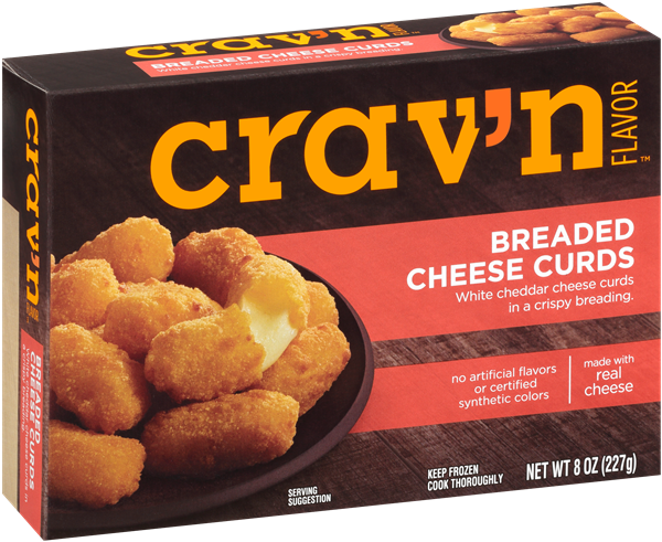Crav'N Flavor Breaded Cheese Curds