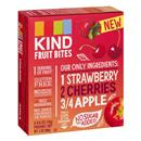 KIND Fruit Bites Strawberry, Cherries and Apple - 5-0.6 oz Pouches