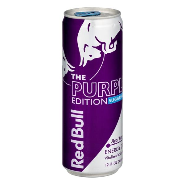 red bull the purple edition sugarfree acai berry energy drink hy vee aisles online grocery. Black Bedroom Furniture Sets. Home Design Ideas
