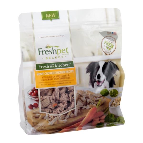 Freshpet Select Dog Food Fresh from the Kitchen Home Cooked Chicken Recipe | Hy-Vee Aisles ...