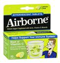 Airborne Immune Support Supplement Tablets Lemon-Lime