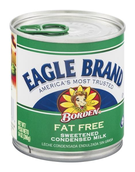 Eagle Brand Borden Fat Free Sweetened Condensed Milk