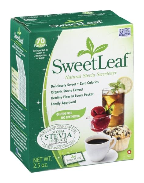 sweetleaf natural stevia sweetener packets hy vee aisles online grocery shopping. Black Bedroom Furniture Sets. Home Design Ideas