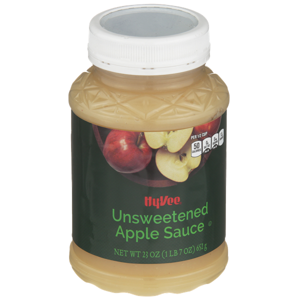 Hy-Vee Unsweetened Apple Sauce