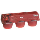 Hy-Vee Light Strawberry Flavor Apple Sauce  6 Pack
