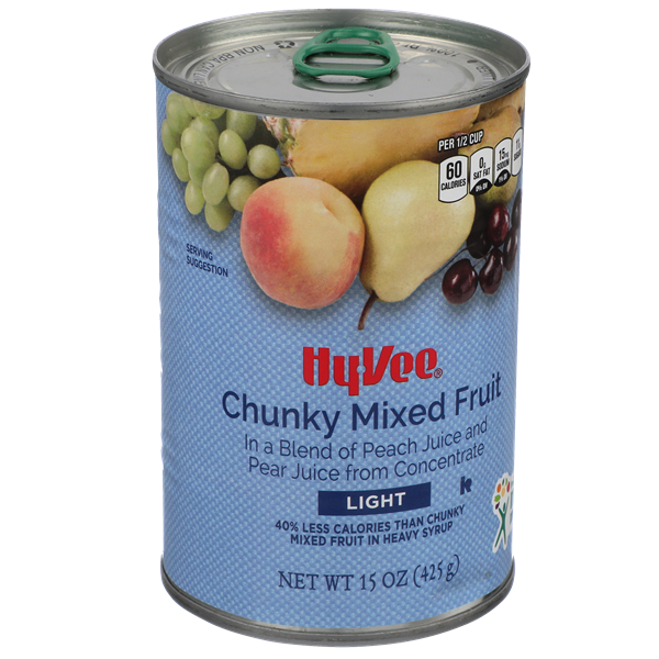 Hy-Vee Light Chunky Mixed Fruit