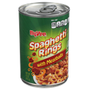 Hy-Vee Spaghetti Rings With Meatballs