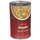 Hy-Vee Chunky Chicken Noodle Soup