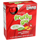 Hy-Vee Fruity Go Apple Cinnamon Applesauce 4-3.2 oz Pouches