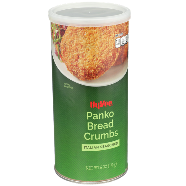 Hy-Vee Italian Seasoned Panko Bread Crumbs