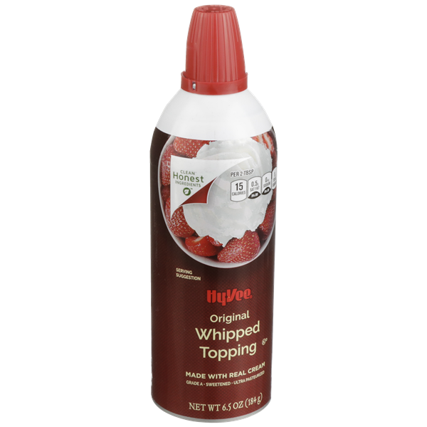 Hy-Vee Original Whipped Topping Aerosol