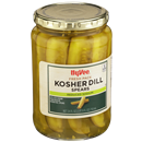 Hy-Vee Reduced Sodium Kosher Dill Pickle Spears