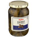 Hy-Vee Whole Sweet Gherkins Pickles