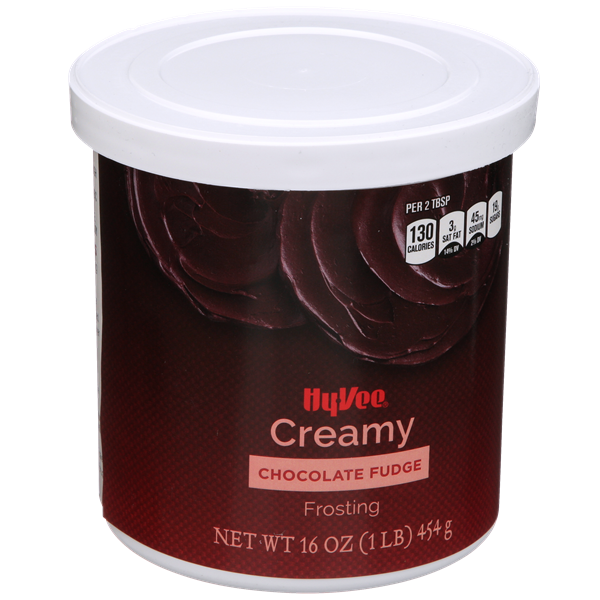 Hy-Vee Creamy Chocolate Fudge Frosting