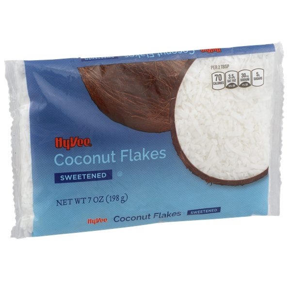 Hy-Vee Flake Coconut Sweetened