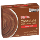 Hy-Vee Instant Chocolate Pudding & Pie Filling Family Size