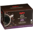 Hy-Vee Dark Roast Single Serve Cup Coffee 12-.40 oz ea.