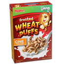 Hy-Vee One Step Frosted Wheat Puffs Cereal
