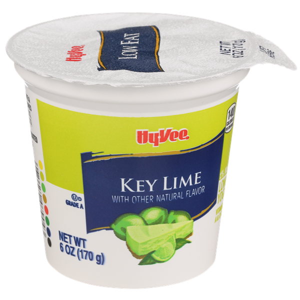 Hy-Vee Key Lime Lowfat Yogurt