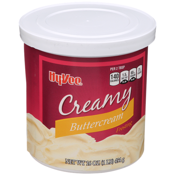 Hy-Vee Creamy Buttercream Frosting