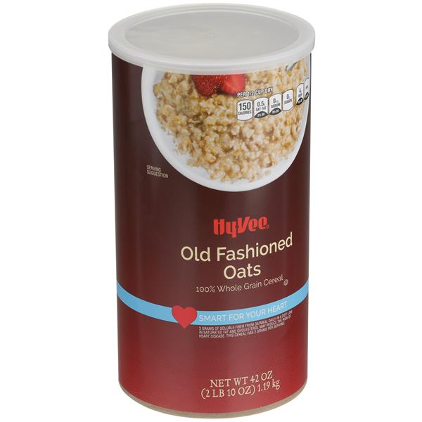 Hy-Vee Old Fashioned Oats