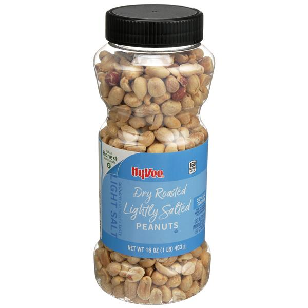 Hy-Vee Dry Roasted Lightly Salted Peanuts