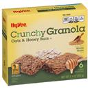 Hy-Vee Crunchy Oats & Honey Granola Bars 6Ct