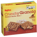 Hy-Vee Crunchy Peanut Butter Granola Bars 6Ct