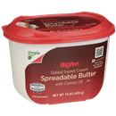 Hy-Vee Sweet Cream Spreadable Butter with Canola Oil