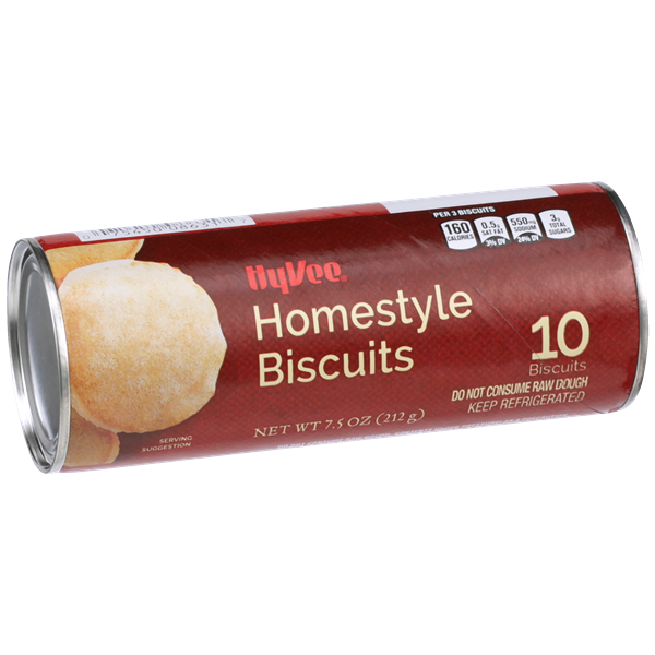 Hy-Vee Homestyle Biscuits 10Ct