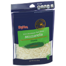 Hy-Vee Shredded Low-Moisture Part-Skim Mozzarella Natural Cheese