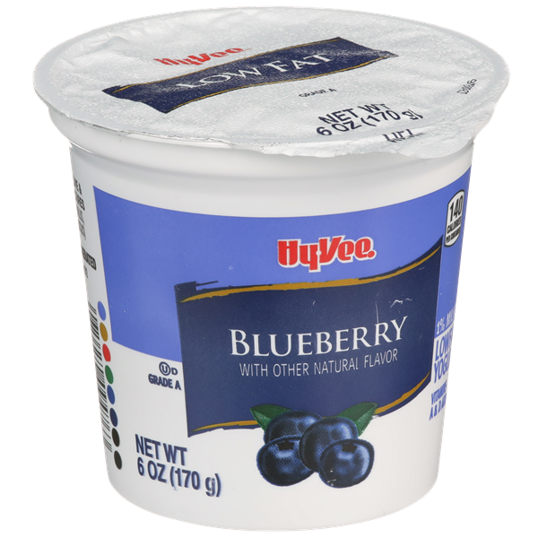 Hy-Vee Blueberry Lowfat Yogurt
