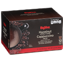 Hy-Vee Hazelnut Cappuccino  Single Serve Cups 12-.53 oz ea.