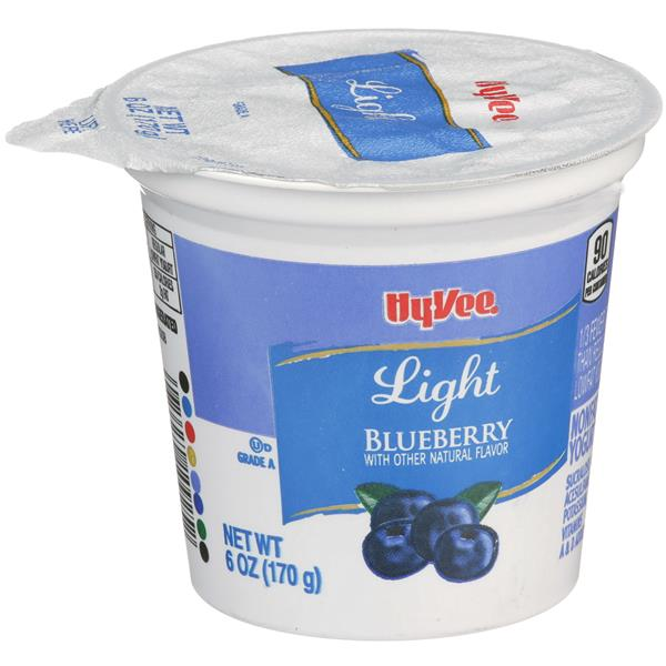 Hy-Vee Light Blueberry Yogurt