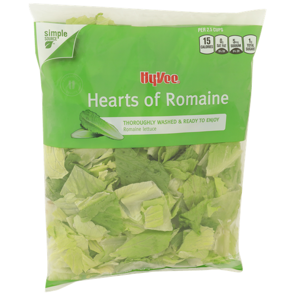 Hy-Vee Hearts of Romaine Salad Mix